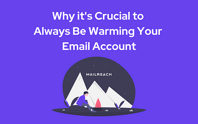Why It's Important to Keep Warming Up an Email Account to Maintain a High Deliverability