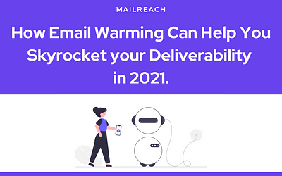 How an Email Warming Service Can Help You Skyrocket your Deliverability in 2021